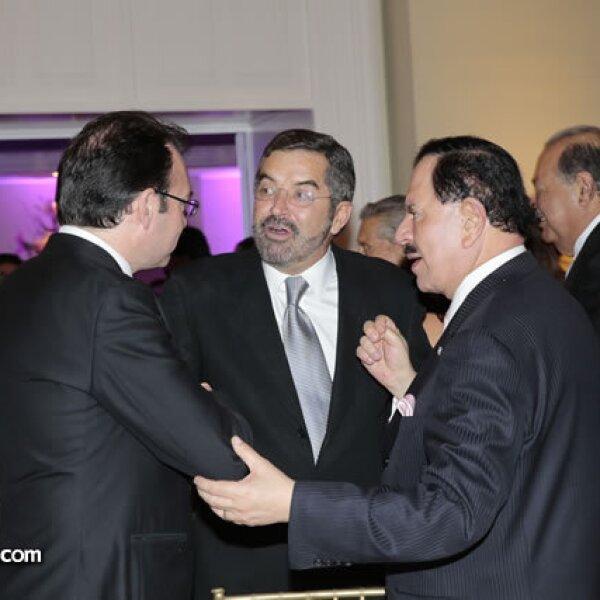 Luis Videgaray (Secretario de Hacienda y Crédito Público),Juan Ramón de la Fuente,Juan Francisco Ealy Ortiz