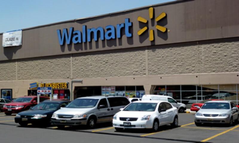 Walmart proyectó ganancias en el segundo trimestre de entre 1.06 y 1.18 dólares por papel. (Foto: AFP )