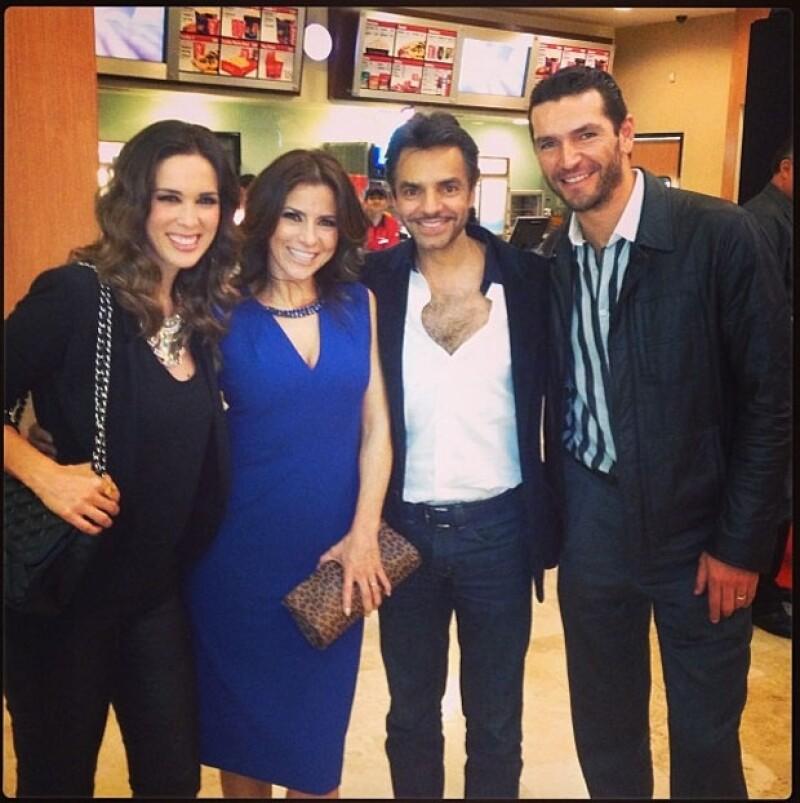 Jacky, Alessandra, Eugenio y Martín.