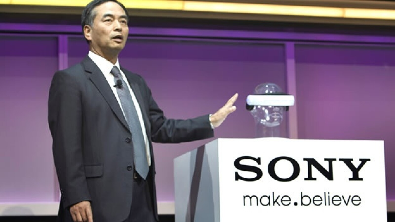 sony Executive Deputy President Yoshioka