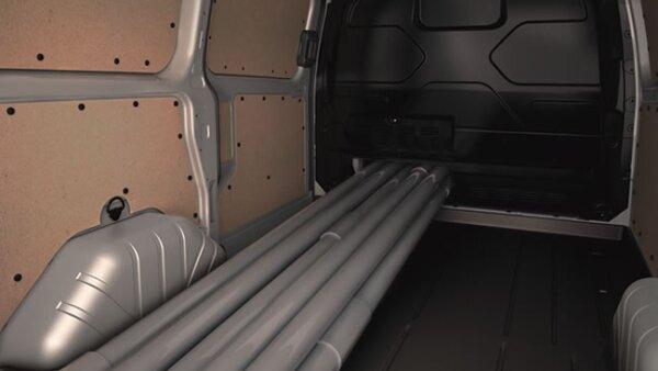 Capacidad de carga de hasta 1.4 toneladas o transporte de nueve pasajeros c�modamente.