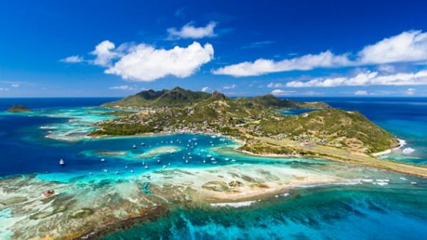 Isla en el Caribe