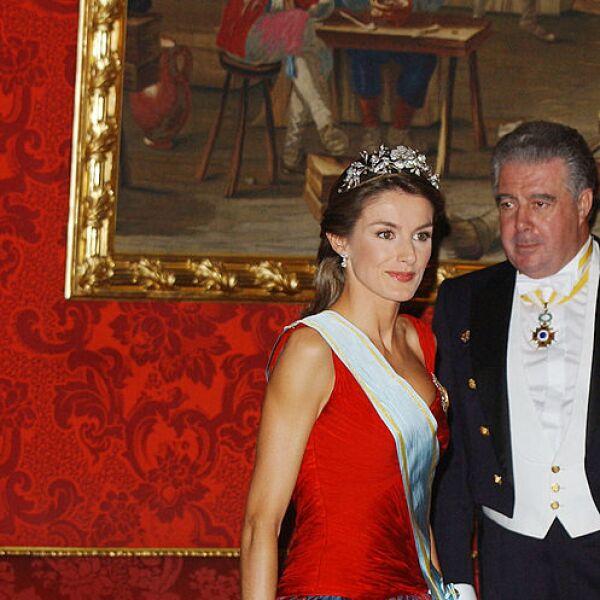 Royal Gala Dinner Honouring Letonia's President