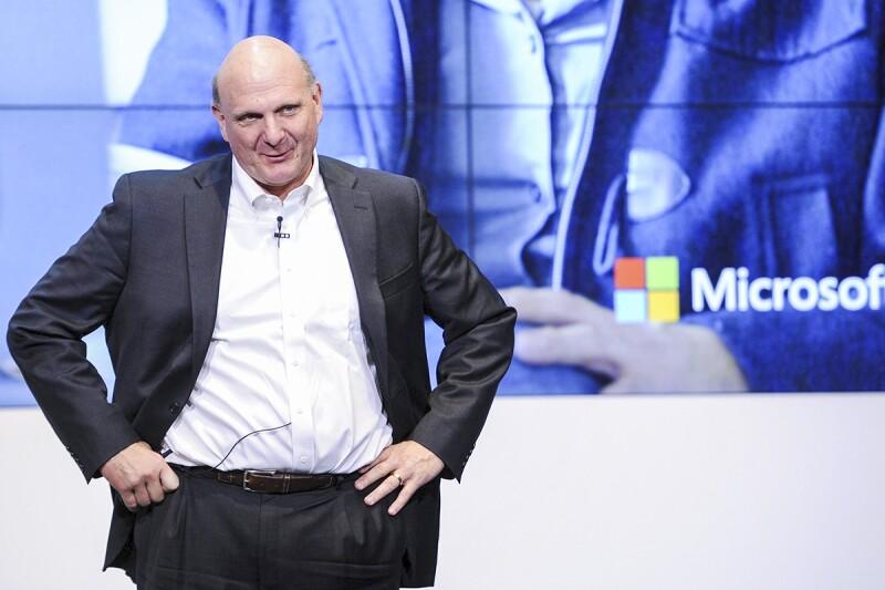 Steve Ballmer, exCEO de Microsoft