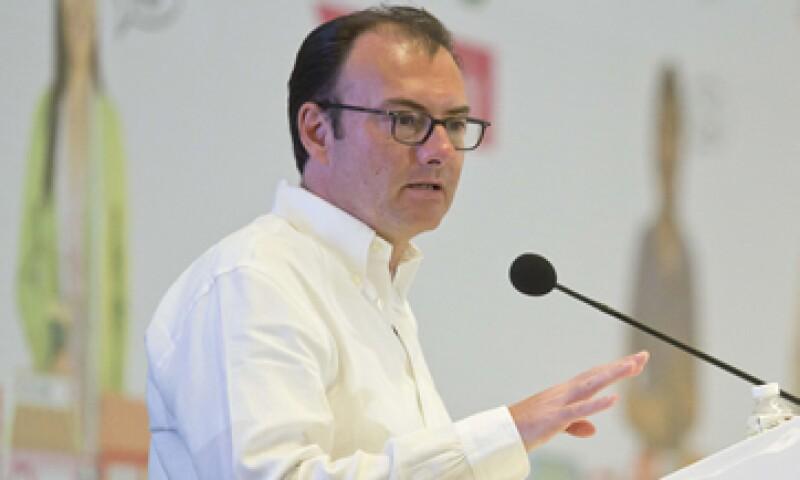 El Gobierno instalará una mesa con la IP para la modernización de aduanas, dijo Videgaray. (Foto: Notimex )