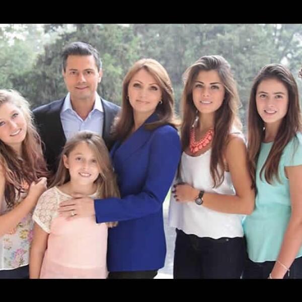 familia de angelica rivera y enrique peña nieto