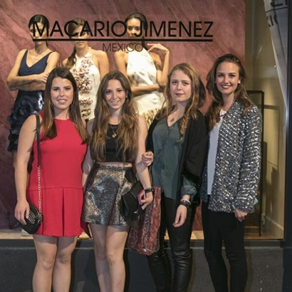 Mariana García, Victoria Alcocer, María Jose Duclaud y Paola Fuentes
