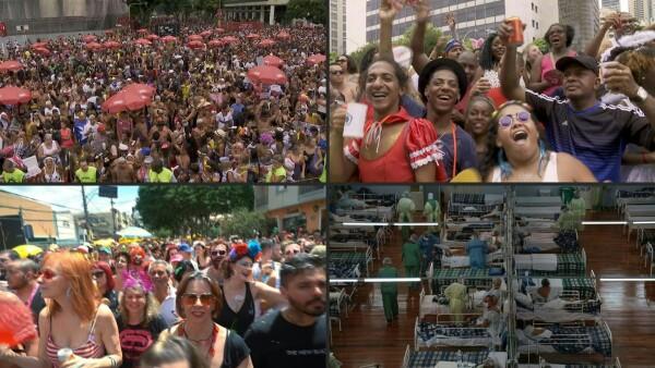 El coronavirus ya circulaba en Brasil antes del carnaval, según estudio