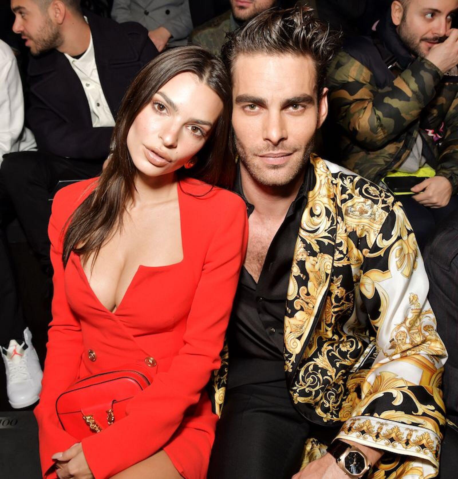 Versace show, Front Row, Fall Winter 2020, Milan Fashion Week, Italy - 21 Feb 2020