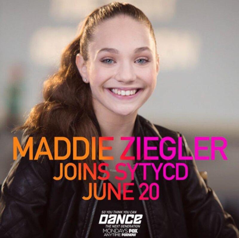 A los 13 años, Maddie ya no se ve tan pequeña como en el video.
