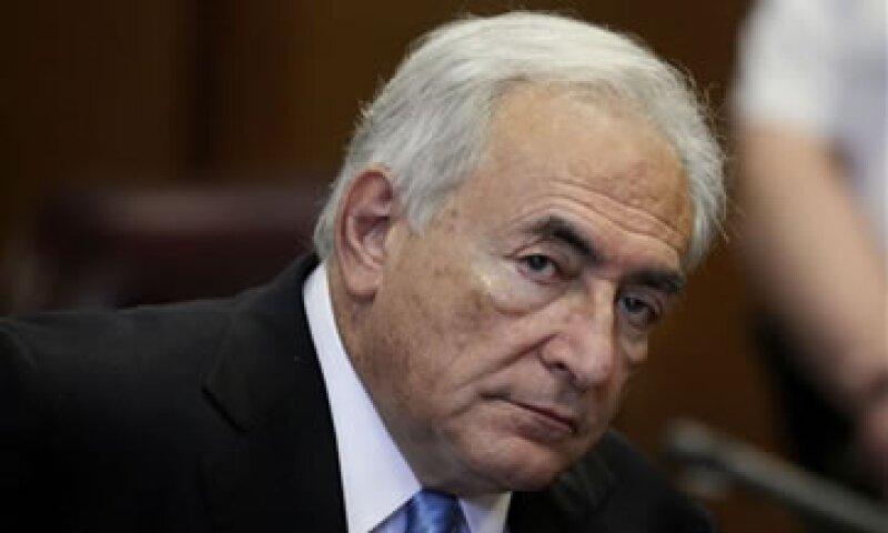 El ex jefe del FMI ya fue absuelto de las acusaciones de violación en EU. (Foto: AP)