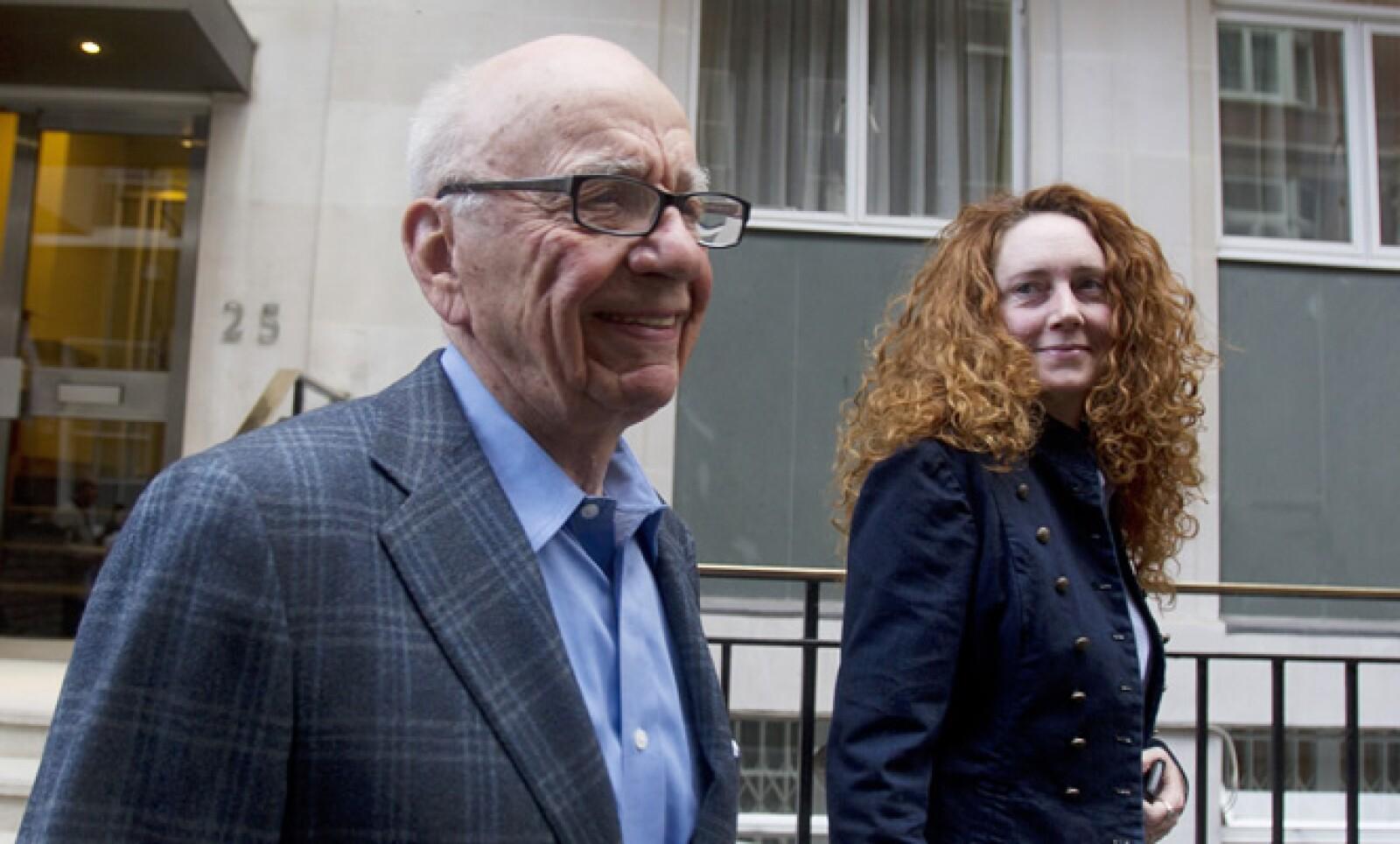 Rupert Murdoch, magnate de los medios, se vio envuelto en un escándalo de espionaje el 8 de julio.