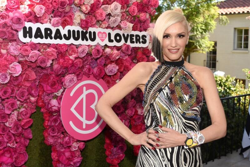 Gwen Stefani también ha incursionado en el rubro del diseño de moda.