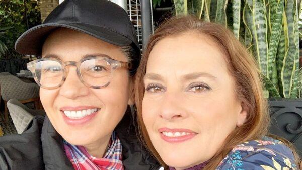 Yolanda Andrade y Beatriz Gutiérrez.