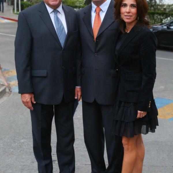 David Gómez Fuente, David Gómez Castro y Karla Medrano.