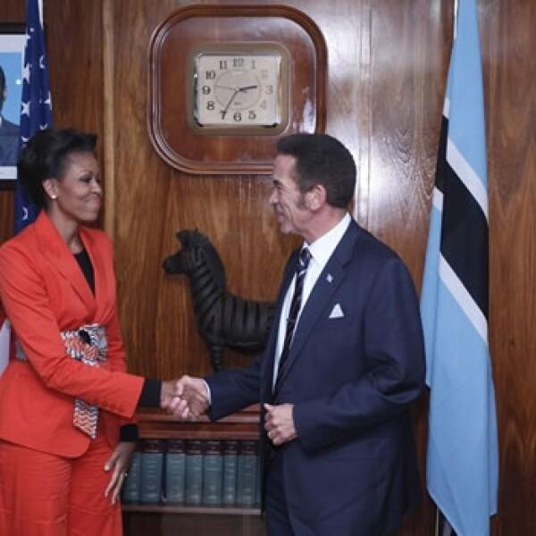 Michelle Obama - Botswana - presidente