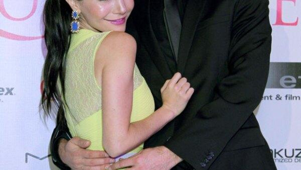 La actriz se casó con el actor Cory Brusseau en una ceremonia que duró ocho horas, acompañada de familiares y amigos.