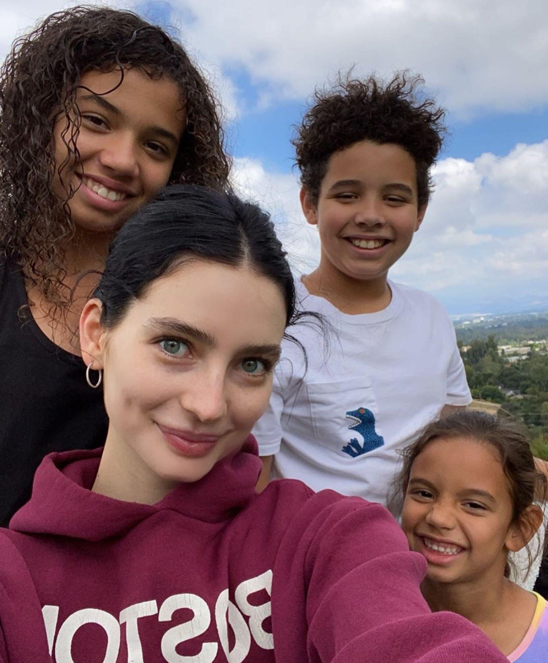 Hania Diesel, Vincent Diesel, Meadow Walker y Pauline Diesel.
