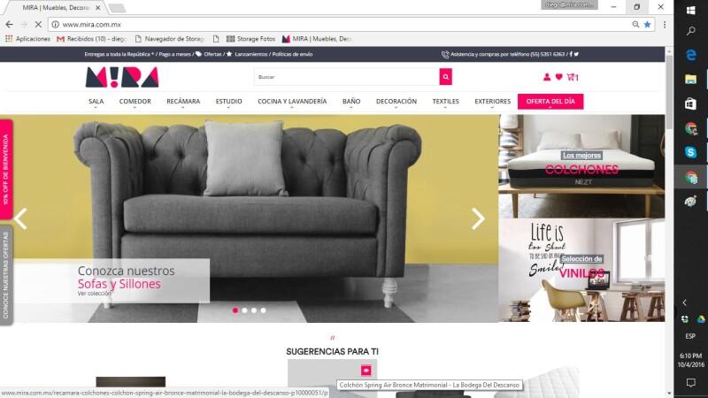 El Amazon de muebles