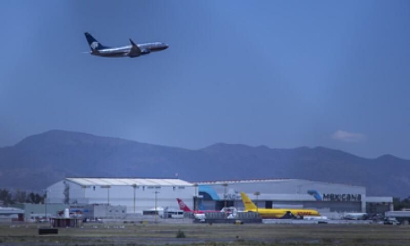 Grupo Aeroportuario de la Ciudad de México ocupa el lugar 227 en el ranking de Expansión. (Foto: Cuartoscuro)