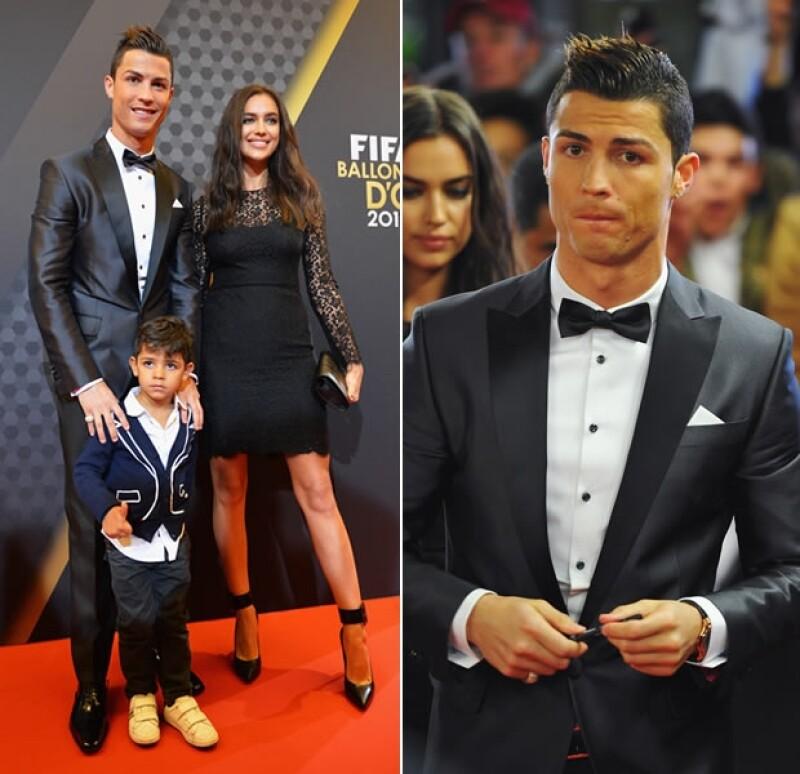 El futbolista portugués, mejor conocido como CR7 no sólo se llevó el Balón de Oro, también fue superrior al argentino Messi en lo que a moda se refiere.
