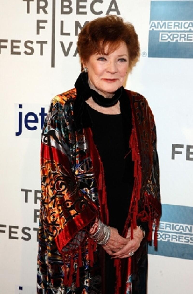 """La ganadora de un Premio Emmy en 1958, en la categoría de Mejor Actriz Principal, por su papel de """"Hellen Morgan"""" en la serie """"Playhouse 90"""", falleció este sábado a los 84 años de edad."""