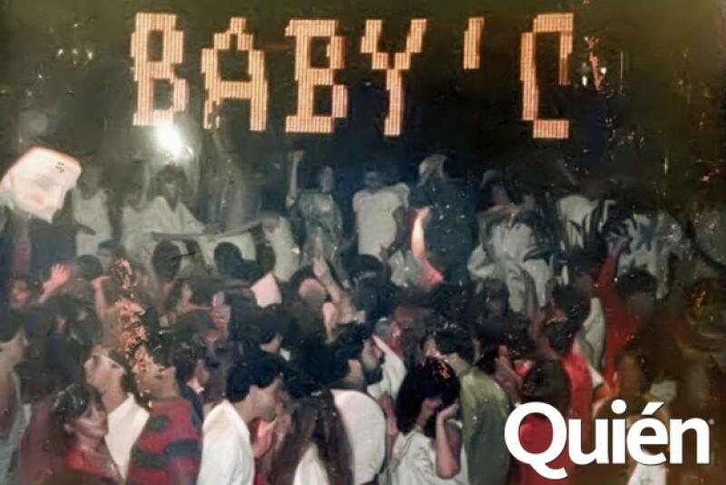 En la década de los 80 la pista del Baby siempre estaba a reventar.