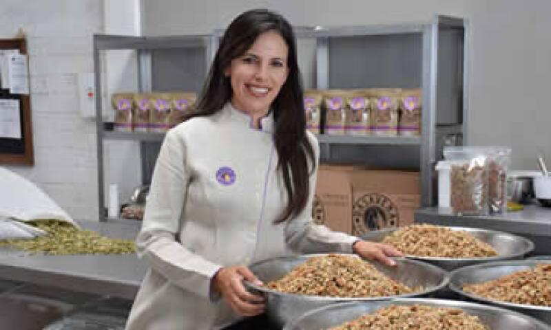 Denisse Álvarez, directora general de Dasavena proveedora de Walmart. (Foto: Cortesía )