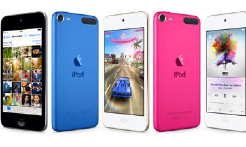 La actualización del iPod touch incluye nuevos colores (Foto: Cortesía/ Apple Store )