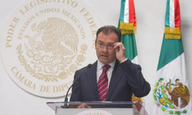 The Banker resaltó el trabajo de Videgaray en lograr reformas como la financiera. (Foto: Cuartoscuro)
