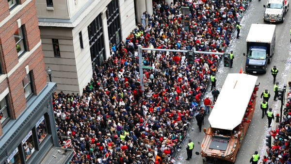 Boston Red Sox Desfile