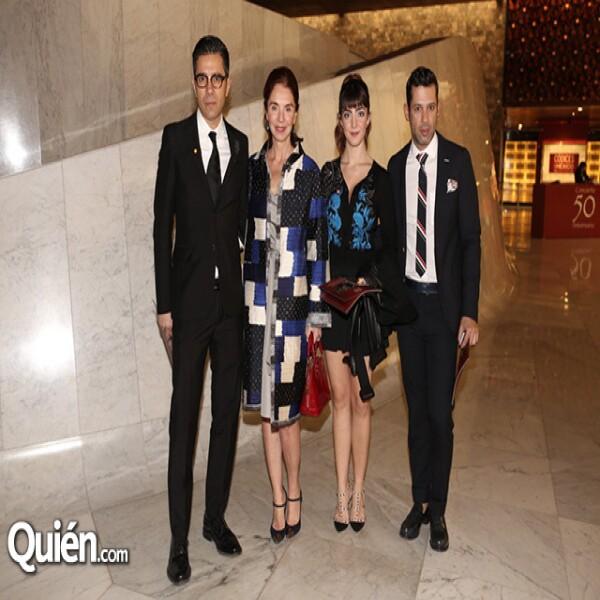 Emilio Dib,Lisette Trepaud,Lizette García,Ramón García