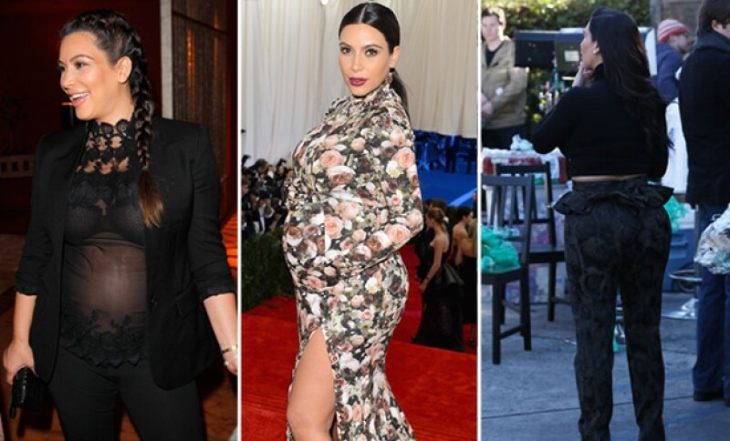 La socialité uso los más inadecuados outfits durante su embarazo.