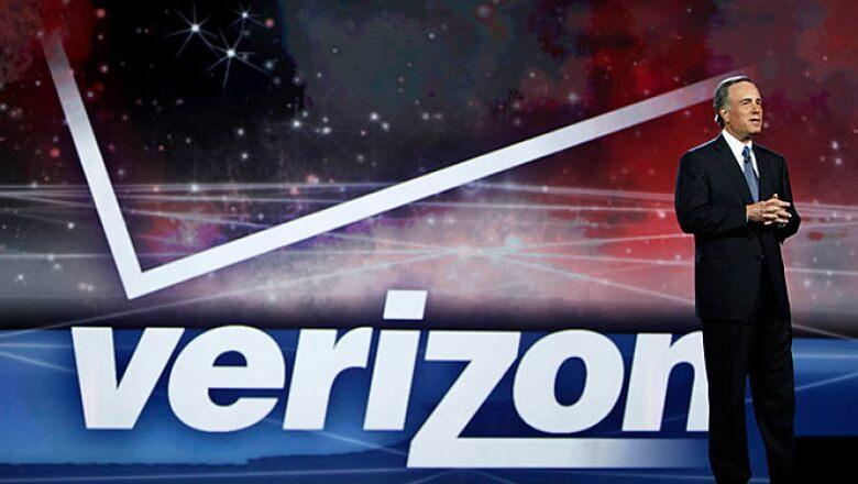 Ivan Seidenberg, CEO de Verizon, en su conferencia magistral, al inicio del CES en Las Vegas.