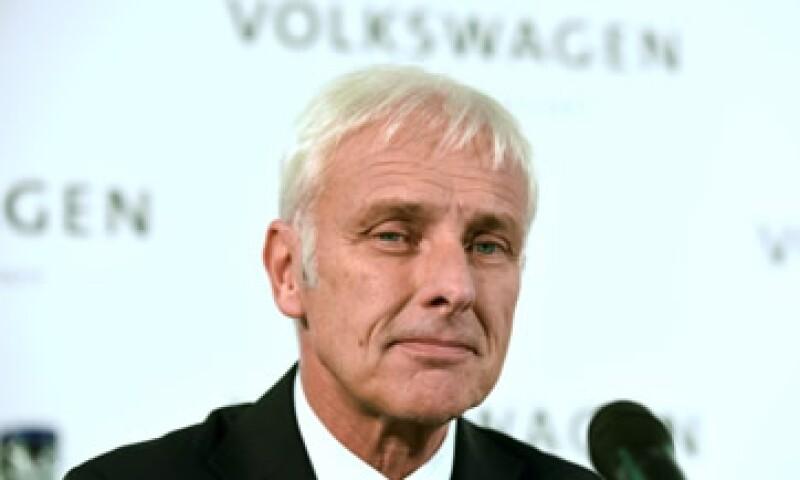 Müller dijo creer que sólo pocos empleados estuvieron involucrados en el escándalo. (Foto: Reuters )