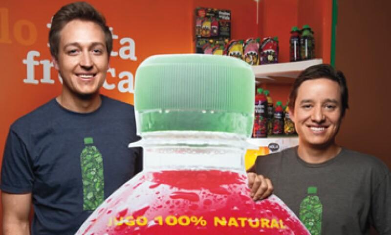Jorge Bouffier y Manuel Villarreal, fundadores de la empresa Sin Secretos. (Foto: Adán Gutiérrez)