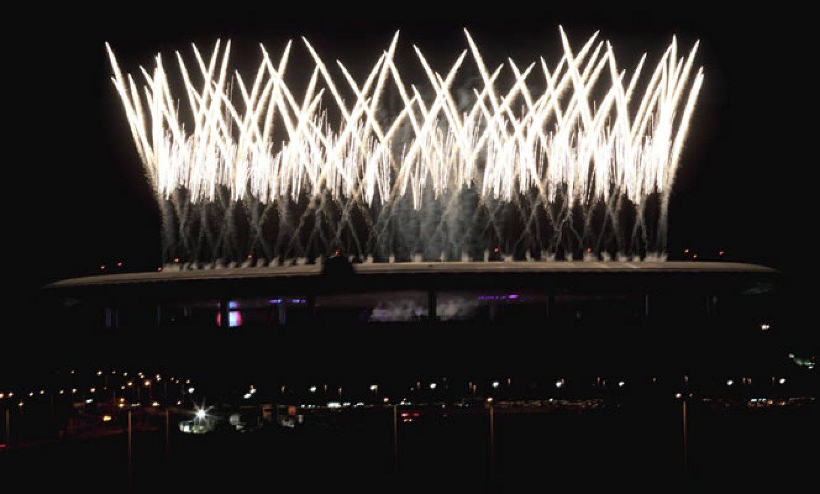 Los organizadores prometieron la ceremonia más grande que se haya visto en América Latina. La fiesta, en la que participaron más de 3,000 personas, no defraudó.