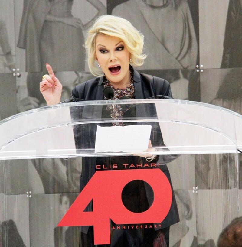 Para todo comentario Joan siempre tenía una frase cómica que encajaba a la perfección.