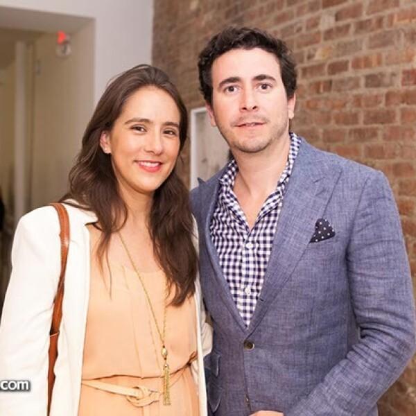 Eva Gurria y Javier Alvarado