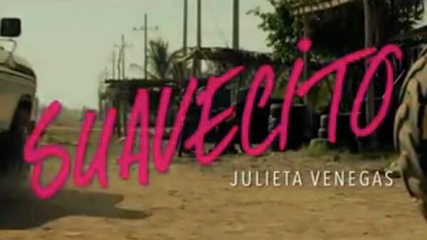 """La cantautora estrena el video de """"Suavecito"""" canción que forma parte del soundtrack de la película Elvira y lo hace junto a Ceci Suárez y Luis Gerardo Méndez."""