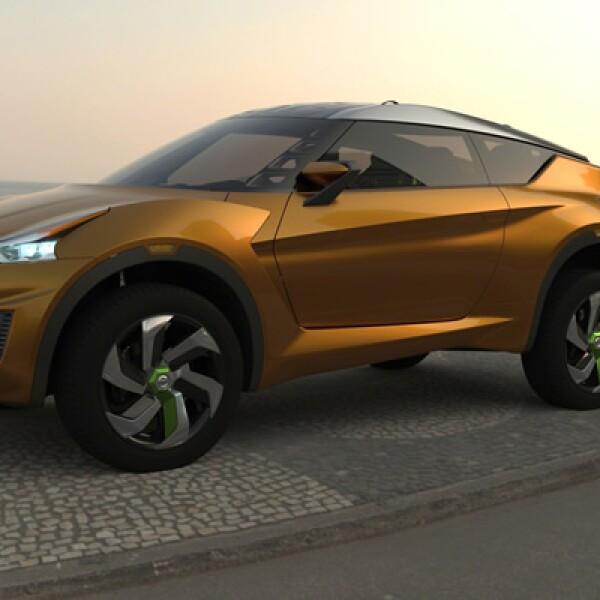 El auto de colores exóticos está pensado para el sector juvenil del país sudamericano.