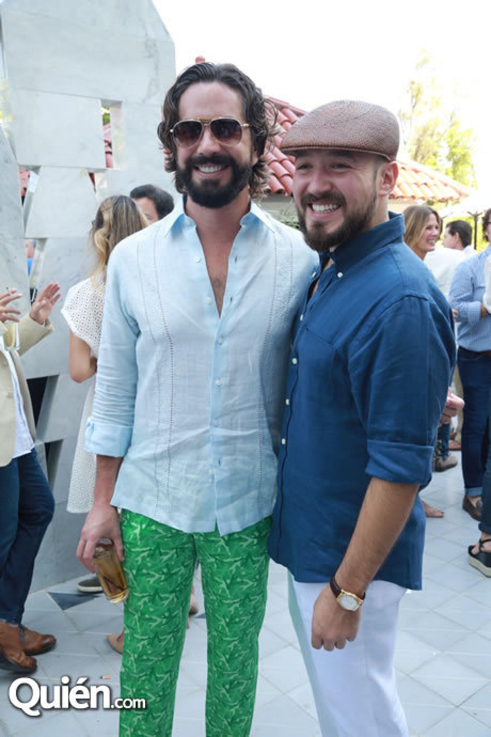 Manuel Maciel y José Adrián Moreno