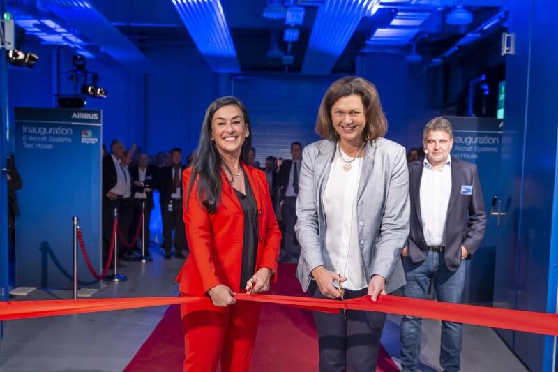 Inauguración planta Munich Airbus