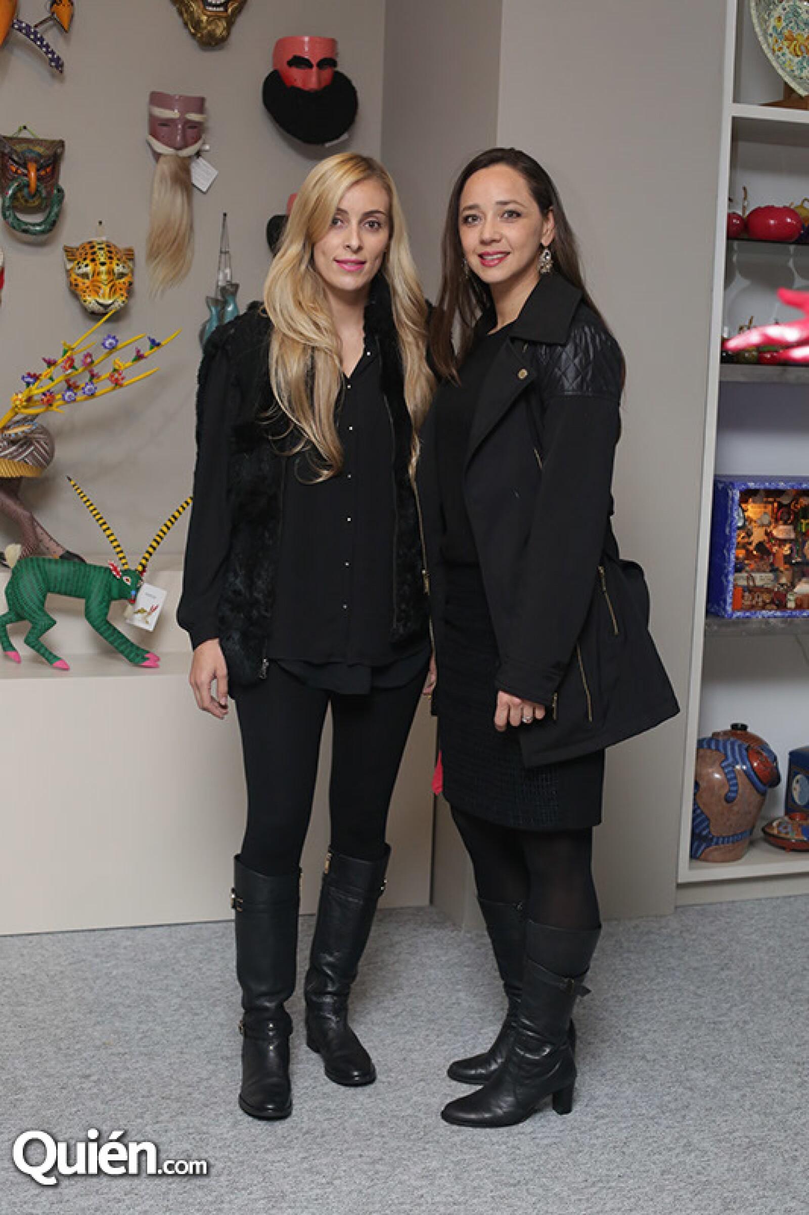 Alma Duarte y Alejandra Serrato