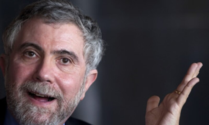 Paul Krugman calificó a Donald Trump como  bocazas beligerante. (Foto: EFE )