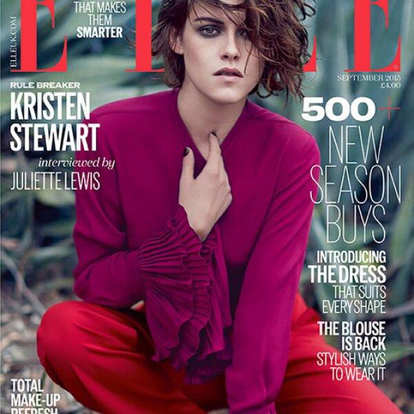 Kristen Stewart posó para Elle UK.