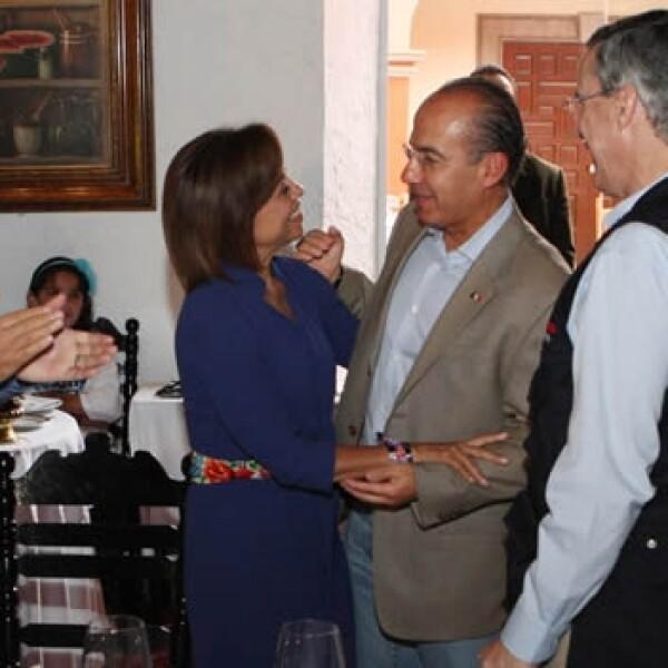 presidente felipe calderon y josefina vazquez mota cierre de campaña polanco