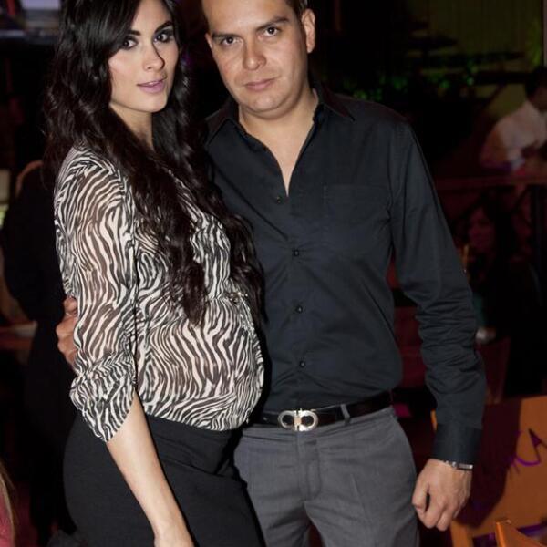 Renata Hidalgo y Javier Rojo