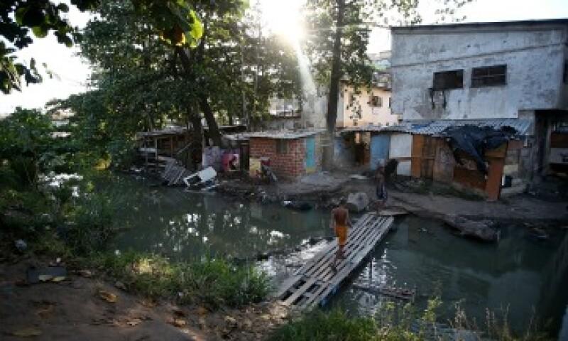Complexo da Mare, en Río de Brasil, es una de las zonas más pobres del país (Foto: Getty Images/Archivo)