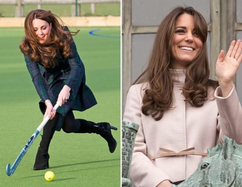 Kate no tiene miedo a nada: ni a ensuciarse las manos ni a cambiar un look universalmente exitoso.